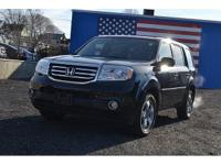 CARFAX One-Owner. Clean CARFAX. Black 2014 Honda Pilot