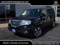 Options:  2014 Honda Pilot Ex-L|Blue/|V6 3.5 L