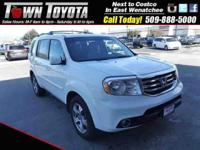 Options:  2014 Honda Pilot Ex-L|Four Wheel Drive|
