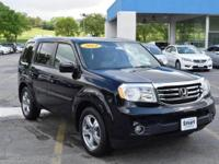 This outstanding example of a 2014 Honda Pilot EX-L is