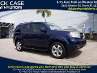 2014 Honda Pilot EX-L in Blue. Stability and traction