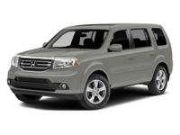Options:  2014 Honda Pilot Ex-L|Silver/|V6 3.5 L