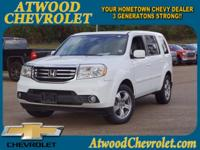 Priced below KBB Fair Purchase Price! Atwood Chevrolet