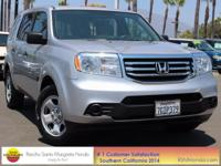 CARFAX One-Owner. Clean CARFAX. 2014 Honda Pilot LX FWD