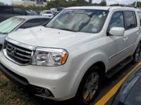 One Owner. 3.5L V6 24V SOHC i-VTEC and FWD. Fueled by