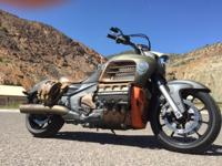 This 2014 GL1800C Valkyrie was applied, at 400 miles, a