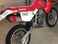 2014 Honda XR650 as new with custom upgrades by Al