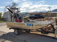 - Stock #76844 - This airboat is 12ft with an all