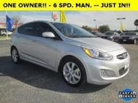 JUST IN!! * -- * ONE OWNER!! * -- 2014 HYUNDAI ACCENT