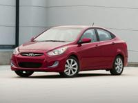 Clean CARFAX. 2014 Hyundai Accent GLS FWD 6-Speed