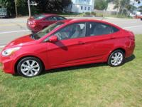 This 2014 Hyundai Accent has all the extras!!1 Alloys,