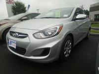 2014 Hyundai Accent GLS Certified.Awards:* ALG Residual