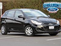 New Price! Clean CARFAX. Accent GS 4D Hatchback 1.6L I4