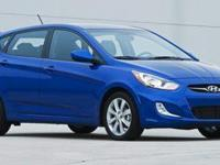 2014 Hyundai Accent GS. Ultra Black Pearl, ONE OWNER,
