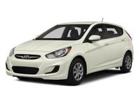 PREMIUM & KEY FEATURES ON THIS 2014 Hyundai Accent