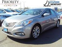 The certified pre-owned 2014 Hyundai Azera in