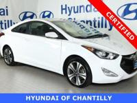 HYUNDAI CERTIFIED,COUPE, TECHNOLOGY PACKAGE, INCLUDES