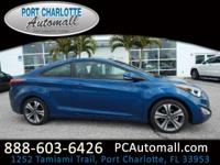 CARFAX One-Owner. Windy Sea 2014 Hyundai Elantra FWD