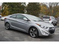 Elantra Coupe trim. Hyundai Certified, CARFAX 1-Owner,