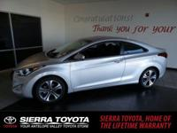 Check out this 2014 Hyundai Elantra Coupe 2DR CPE PZEV.