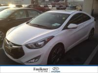 Rare, One Owner, Off Lease Elantra Coupe Certified