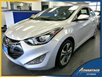 This fully loaded Hyundai Elantra Coupe has all of the