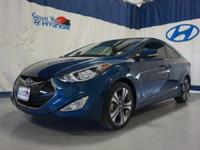 2014 HYUNDAI ELANTRA COUPE with only 22k miles. One