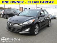 * ONE OWNER - CLEAN CARFAX  This 2014 Elantra GT is for