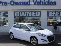 This 2014 Hyundai Elantra GT LEATHER * ONE OWNER is
