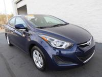 This 2014 Hyundai Elantra is a 1-Owner vehicle that is