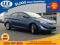 New Lee Hyundai of Goldsboro trade!. Elantra SE, 15