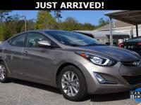 This Elantra features: BACKUP CAMERA!, Heated Front