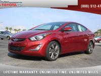 2014 Hyundai Elantra Limited Sedan, *** 1 FLORIDA OWNER