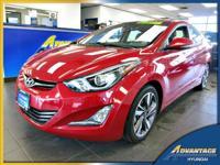 Fully loaded, this 1-Owner Hyundai Elantra Limited is