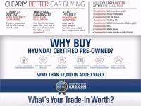 HYUNDAI CERTIFIED PRE-OWNED WARRANTY  ~ LOCAL TRADE ~