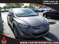 2014 Hyundai Elantra Limited in Harbor Gray Metallic,