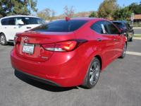 Options:  2014 Hyundai Elantra 4Dr Sdn Auto