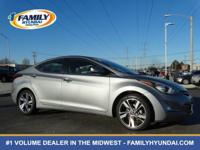 Look at this 2014 Hyundai Elantra Limited. Its