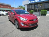 CARFAX One-Owner. Venetian Red 2014 Hyundai Elantra