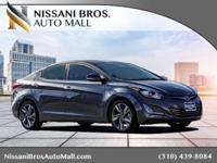CARFAX One-Owner. Clean CARFAX. Gray 2014 Hyundai