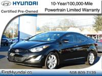 HYUNDAI CERTIFIED -NAVIGATION-MOONROOF-LEATHER - One