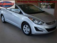 2014 Hyundai Elantra Limited Car Pre-Owned. When I get