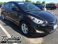 Recent Arrival! 2014 Hyundai Elantra in Black Diamond,