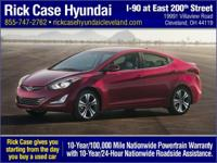 ELANTRA LIMITED*****Rick Case Hyundai, home of the 10