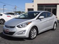 ** 2014 ** Hyundai ** Elantra ** SE ** One Owner ** 8