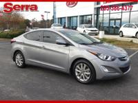 Harbor Gray Metallic 2014 Hyundai Elantra FWD 6-Speed