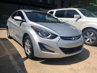 Silver used 2014 Hyundai Elantra SE sedan, FWD, 6-Speed