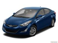 Options:  2014 Hyundai Elantra Se|Se 4Dr Sedan 6A|Gy