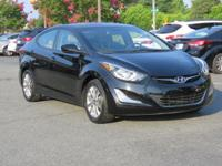 Black Diamond 2014 Hyundai Elantra SE FWD 6-Speed 1.8L