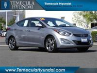 This beautiful Elantra Limited with Technology Package